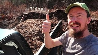 build your soil for free wood chip compost