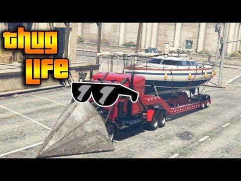 GTA 5 ONLINE : THUG LIFE AND FUNNY MOMENTS (WINS, STUNTS & FAILS #15)