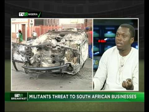 Militants threat to South African Businesses