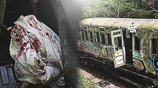 REAL DEAD BODY FOUND Whilst Exploring Abandoned Train! (NOT CLICKBAIT!)