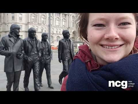 NCG Liverpool city tour vlog