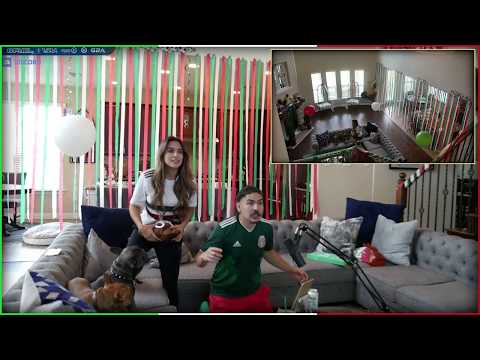 CASTRO 1021 REACTS TO MEXICO WINNING AGAINST GERMANY