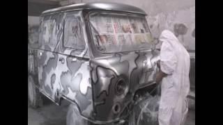 УАЗ камуфляж металик painted in camouflage car(, 2016-05-16T22:29:54.000Z)