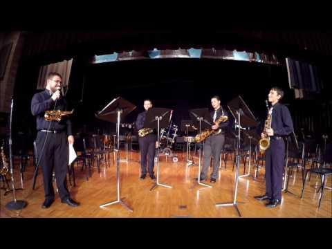 South Allegheny Saxophone Quartet 2016