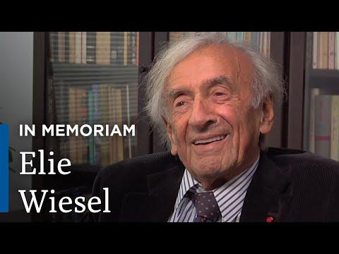 In Memoriam: Remembering Elie Wiesel