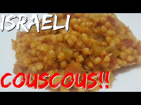 HOW TO MAKE Israeli Couscous!
