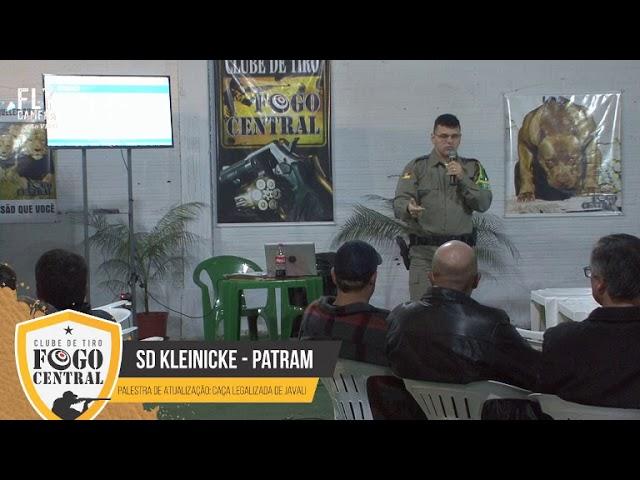 Transmissão ao vivo - 1º Terça Técnica - Clube de tiro fogo central  - Patram - SD Kleinicke