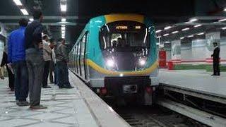 فيديو| هلع فى مترو الأنفاق بسبب سقوط بنت على القضبان