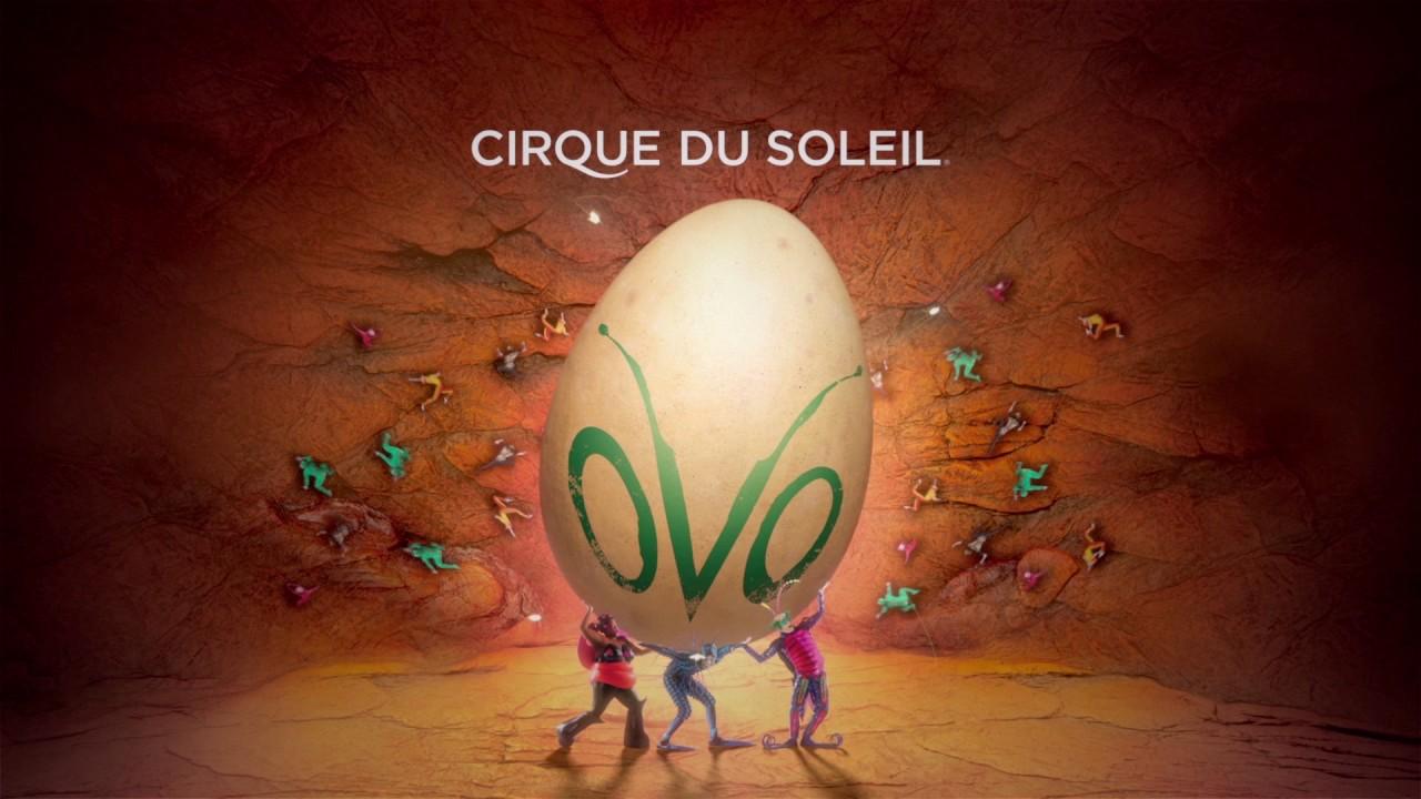 Cirque Du Soleil Präsentiert Ovo Youtube