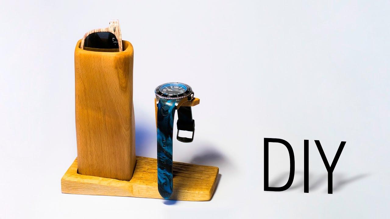 Diy Wooden Sunglasses Watch Holder