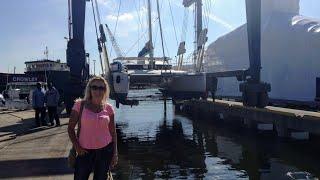 se1 ep3 fountaine pajot catamaran blue water refit part 1 ok ok ok sailing trio travels