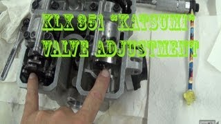 Here is a quick video as we build the KLX 351 on how to check and a...
