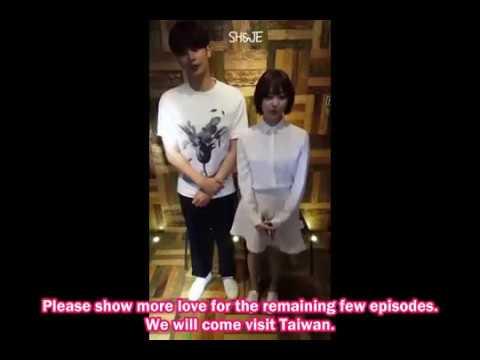 [EngSub] Sung Hoon & Song Ji Eun on Taiwan iQIYI Facebook Live Interview [16.05.2017]