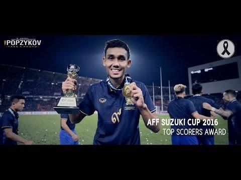 Teerasil Dangda l Skils&Goals in Aff Suzuki Cup 2016 [Top Scorers award]