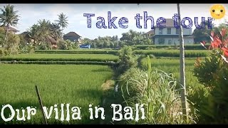 Gambar cover FIRST TIME IN INDONESIA | OUR AIRBNB IN BALI | HOTEL IN UBUD