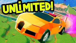 UNLIMITED ROCKET FUEL GLITCH! | JAILBREAK