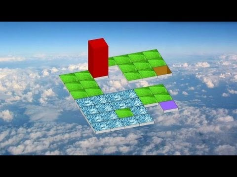 Rolling Cube - Puzzle game online Gameplay MAGICOLO 2013 - YouTube