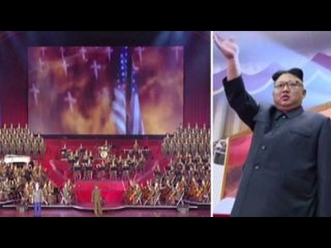 Kim Jong Un enjoys propaganda video depicting bombing of US