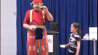 The Bread Trick by Silly Billy. He performs magic shows for kids birthday parties in New York