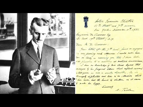These Secret Letters By Nikola Tesla Have Just Been Discovered In Serbia