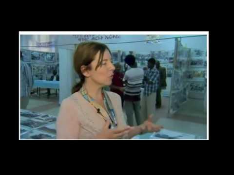BBC: Inside Eritrea: Bras, biros and backward shoes in war exhibit