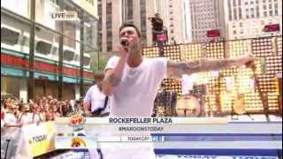 Maroon 5 Payphone The Today Show 06 29 2012