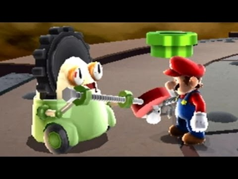 Super Mario Galaxy Walkthrough - Part 7 - Battlerock Galaxy