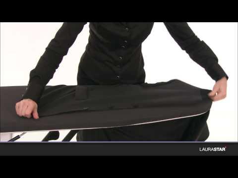 Laurastar  как гладить пиджак