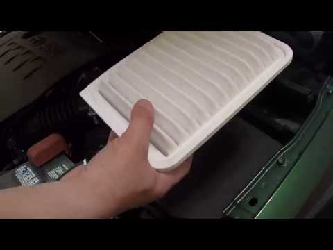 Toyota Corolla Engine Air Filter & Cabin Air Filter change