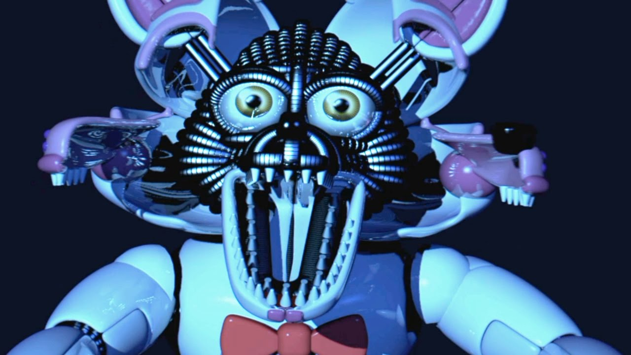 Funtime Foxy Jumpscare Fnaf Sister Location Youtube