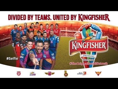 Kingfisher Celebrates Cricket: Kingfisher Premium Calendar
