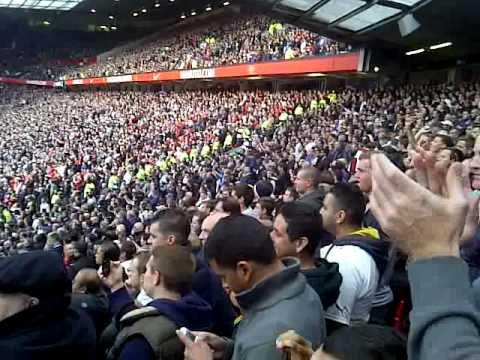 Yid Army - Manchester United away! 29th Sept 2012 - YouTube