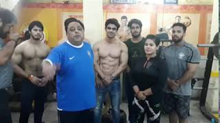 Welcome Actor Ankit Mohan In Dronacharya The Gym