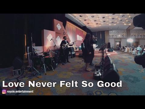 Love Never Felt So Good - Royale Wedding Entertainment Quintet Band
