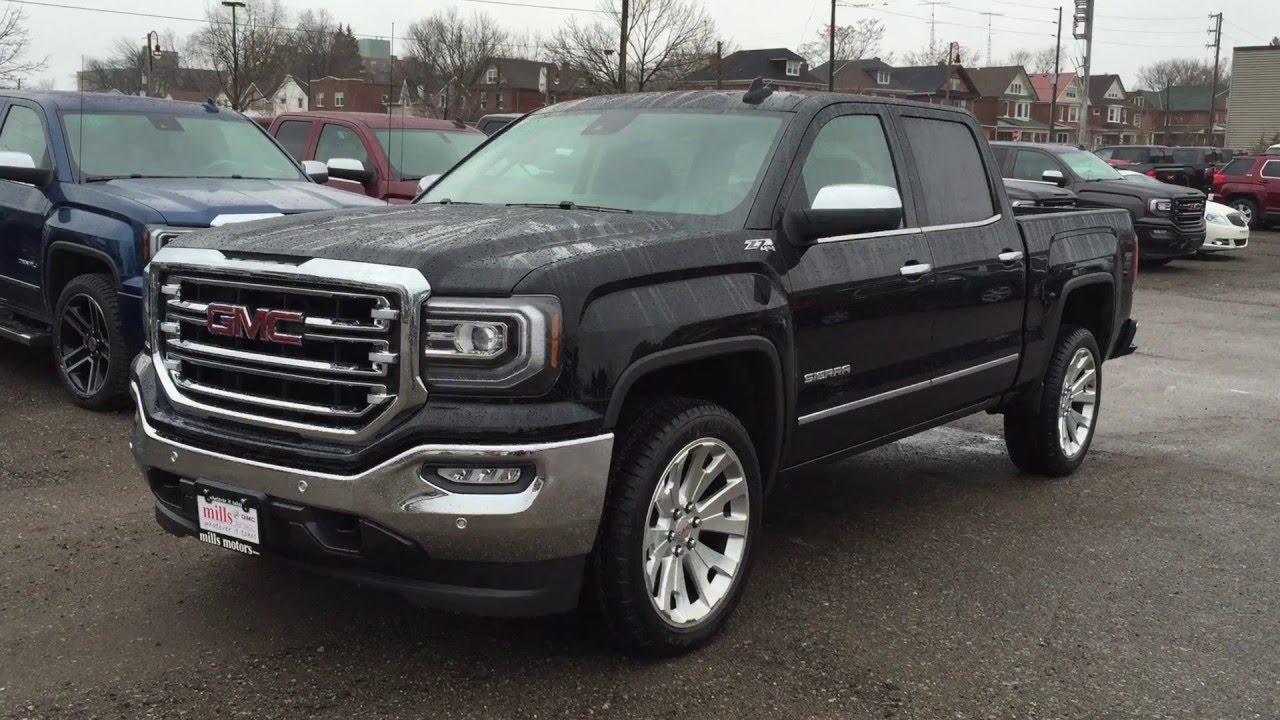 2016 gmc sierra 1500 slt crew cab z71 4glte wifi mills. Black Bedroom Furniture Sets. Home Design Ideas