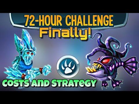 Monster Legends - 72 Hour Challenge - Frostbite, Hirondeleor, and Furhem!