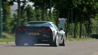 640HP Corvette C6 Z06 APP Racing Engines - BRUTAL ACCELERATIONS!