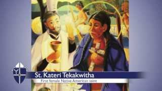 The Dash Report: First feast day of St. Kateri to be celebrated at UTTC - 7.11.13