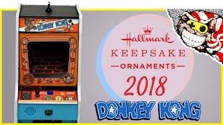 Hallmark Keepsake Ornament Donkey Kong Arcade 2018 - Unboxing and Review