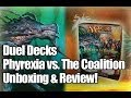 MTG - Duel Decks: Phyrexia vs. The Coalition Unboxing!