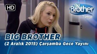 Big Brother Türkiye (2 Aralık 2015) Çarşamba Gece Yayını - Bölüm 7