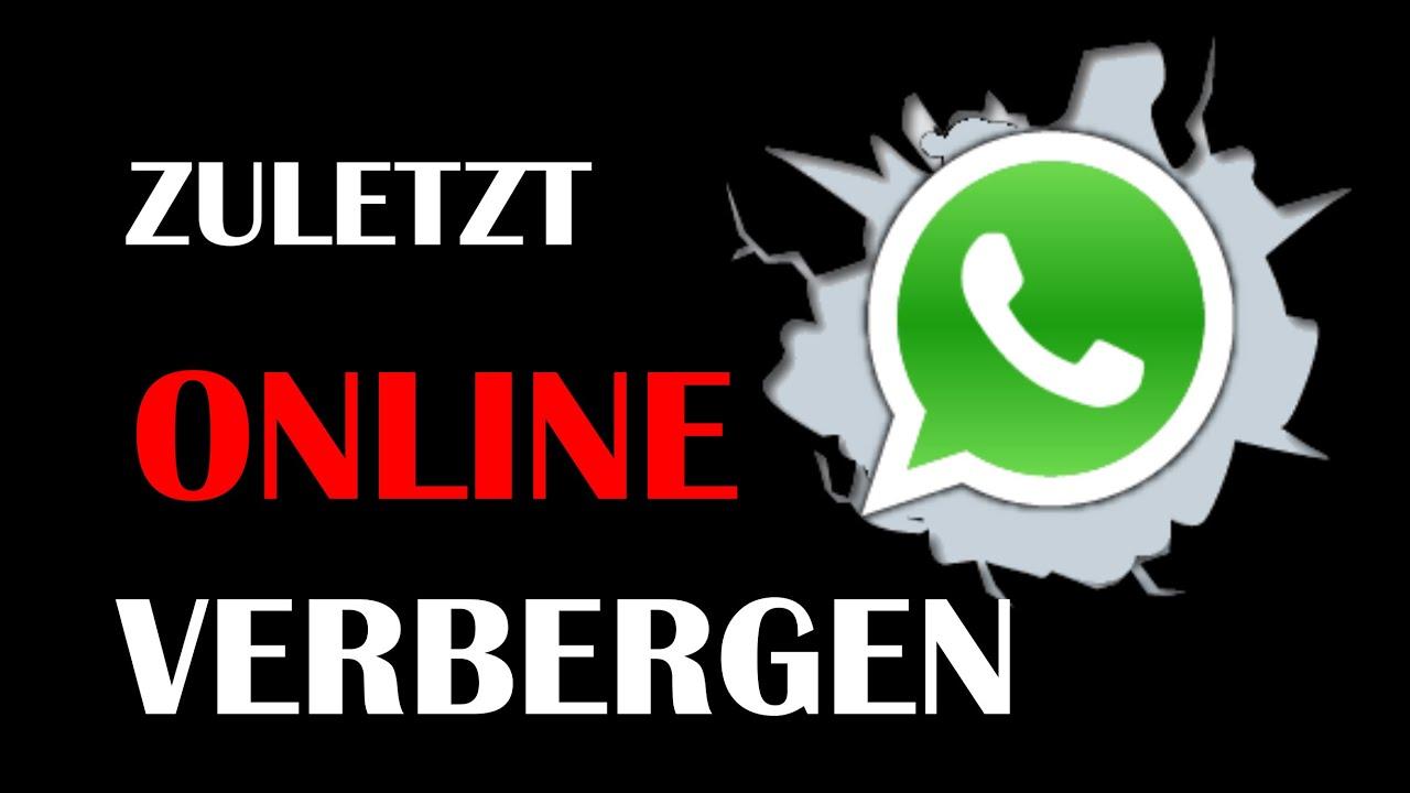Kann man whatsapp zuletzt online manipulieren