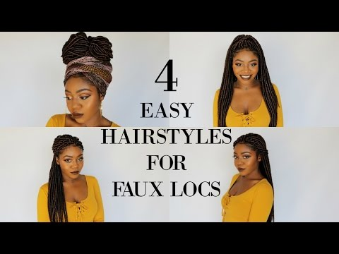 4-quick-&-easy-hairstyles-for-faux-locs-w/-partial-cornrows-|-jazz-nicole