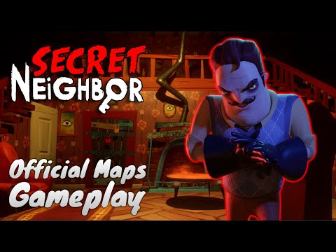 ALL OFFICIAL MAPS!!   Secret Neighbor  