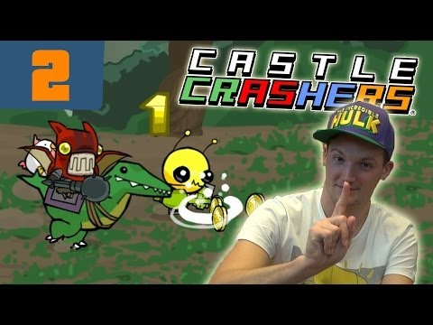 Ultra knappes Match mit dem Katzenhai! - Castle Crashers Let´s Play #002 [GERMAN]