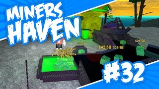 Miners Haven #32 - BUGGED TELEPORTERS (Roblox Miners Haven)