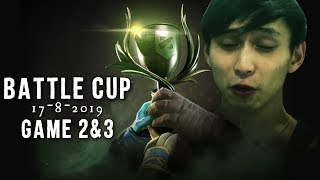 90 CENTS SCAMMAZ BATTLE CUP - GAME 2 & 3 (SingSing Dota 2 Highlights #1418)