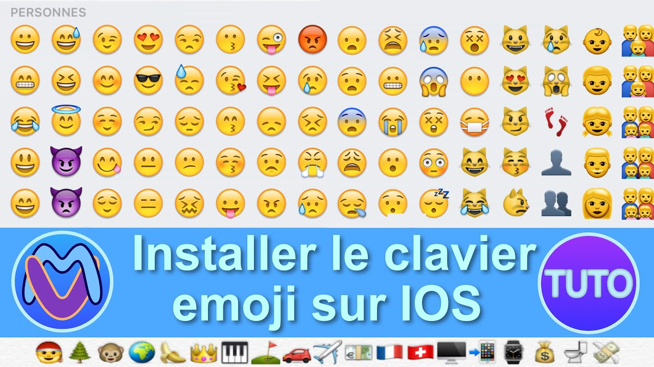comment installer le clavier emoji youtube. Black Bedroom Furniture Sets. Home Design Ideas