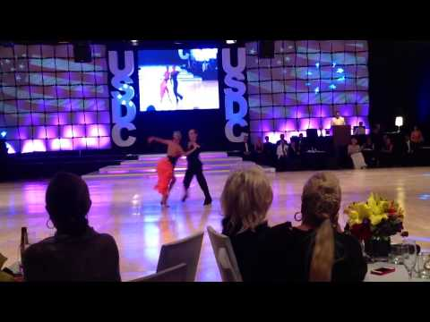 Riccardo Cocchi & Yulia Zagoruychenko at the 2014 United States Dance Championships