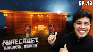 My New Trading Hall 😍  | Minecraft Survival Series Episode 13